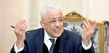 طارق شوقى وزير التربية والتعليم والتعليم الفني