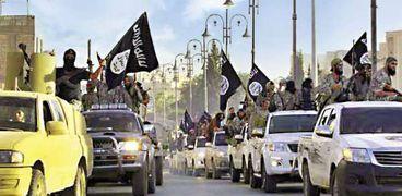 """عناصر تنظيم""""داعش"""" الإرهابي"""