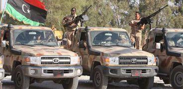 """الجيش الليبى""""صورة أرشيفية"""""""