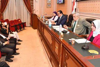 اجـتماع لجنة النقل برئاسة النائب علاء عابد رئيس اللجنة