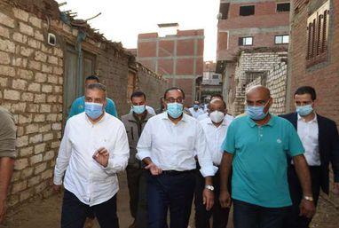 رئيس الوزراء يتفقد مشروعات حياة كريمة بقرية دراجيل بمركز الشهداء بالمنوفية