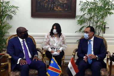 لقاء مدبولي مع رئيس وزراء الكونغو الديمقراطية لبحث سبل تعزيز التعاون بين البلدين
