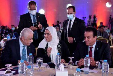 مؤتمر تكافؤ الفرص التعليمية بحضور وزيرة التضامن والتعليم العالي والتربية والتعليم