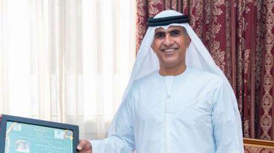 عضو مجلس إمارة رأس الخيمة الإماراتية يفوز بجائزة منتدى المستقبل