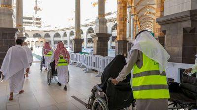 متطوعين المسجد الحرام
