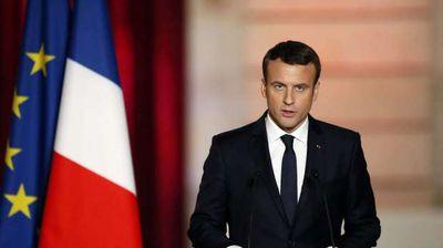 ماكرون الرئيس الفرنسي