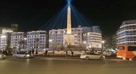 ميدان التحرير يتزين لموكب نقل المومياوات الملكية
