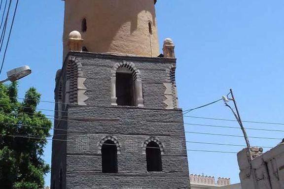 مئذنة المسجد العمري بالأقصر