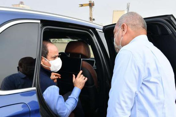 الرئيس عبدالفتاح السيسي خلال جولته التفقدية اليوم