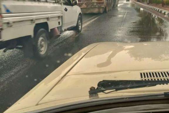 سقوط أمطار خفيفة إلى متوسطة على مدينتي أبو سمبل وتوشكى بأسوان
