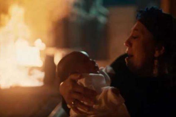 مشهد الحريق في مسلسل موسى الحلقة 29