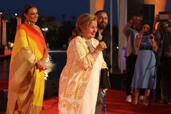 ملكة العلايلي تتحدث عن محمد الصغير «حب عمرها»