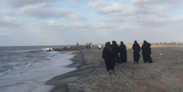 البحث عن جثمان الطالب الغريق في مصيف بلطيم