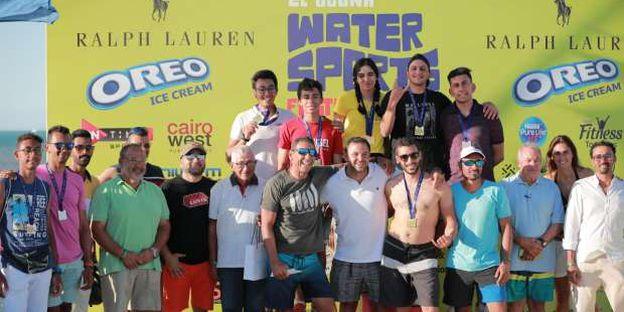 ختام مهرجان الجونة للألعاب المائية
