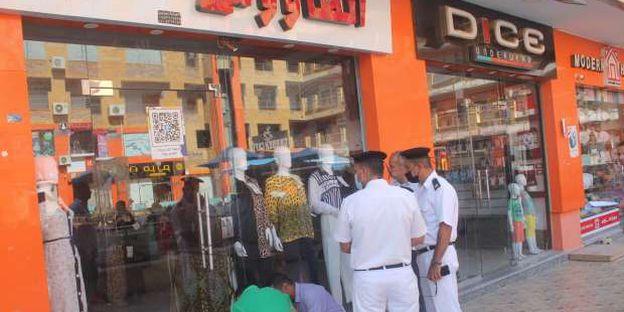 رئيس الجهاز: غلق وتشميع محال تجارية مخالفة خلال حملة جديدة بمدينة السادات