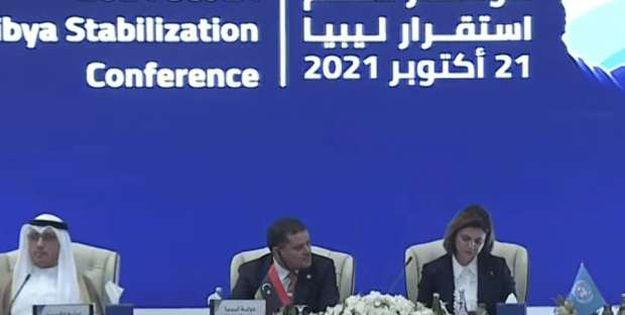 مؤتمر دعم استقرار ليبيا