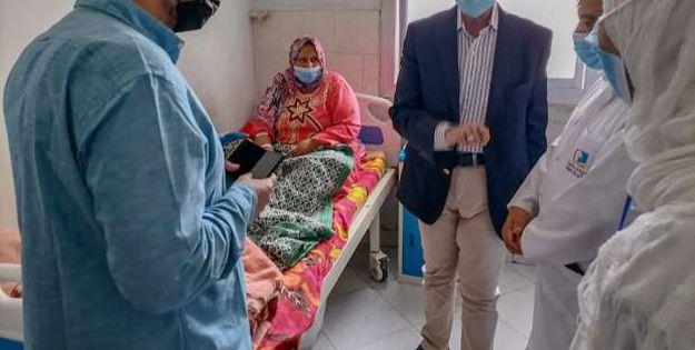 وكيل صحة الشرقية يوجه بتطوير مستشفيات منيا القمح