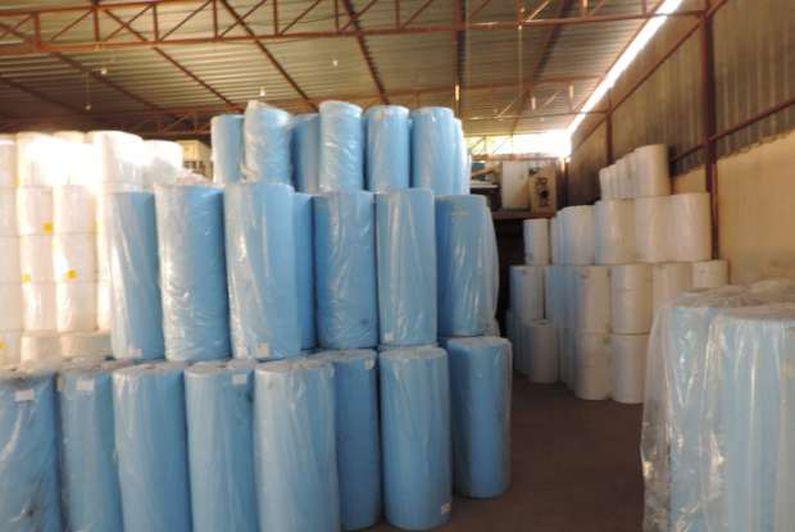 ضبط مخزن القليوبية بداخله أكثر من 70 طن مواد خام مجهولة المصدر