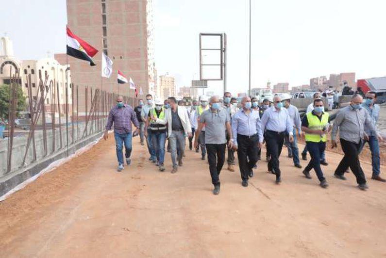 وزير النقل يتابع أعمال التطوير والصيانة الشاملة بالطريق الدائري حول القاهرة الكبرى