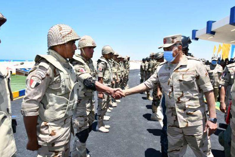 ختام فعاليات المناورة رعد- 5 التي تنفذها إحدى وحدات المنطقة الشمالية العسكرية