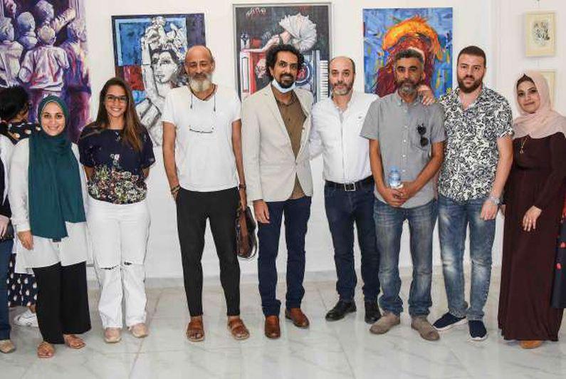 افتتاح معرض الفنان خالد عبد العاطي