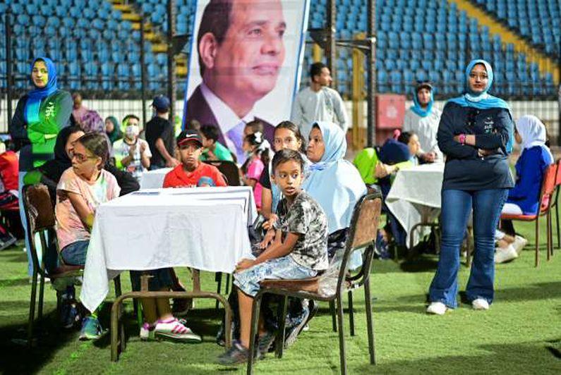 احتفالية المحافظة بالمولد النبوي باستاد الاسكندرية