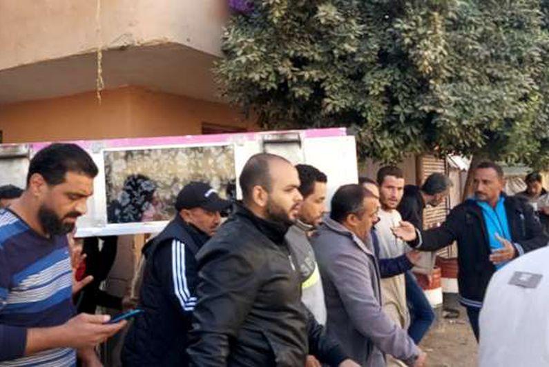 تشييع جثمان محمد الفكهاني لاعب بتروجيت.. وأسرته: كان بار بنا