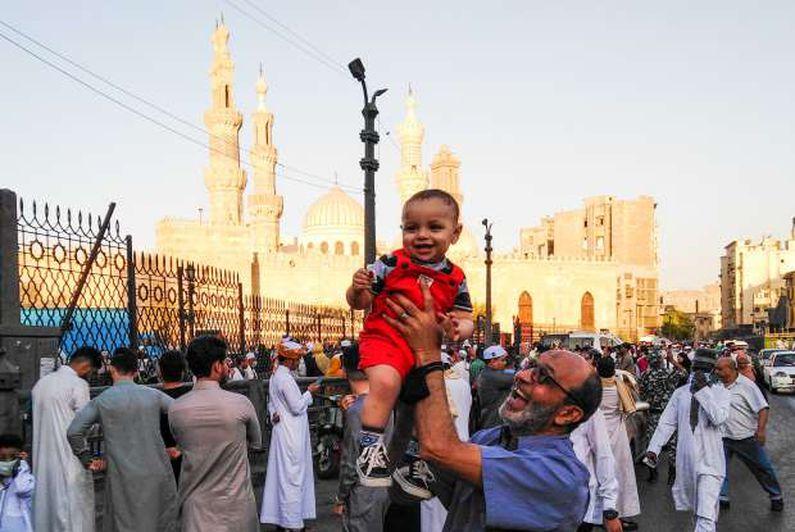 صلاة عيد الفطر المبارك بالجامع الأزهر