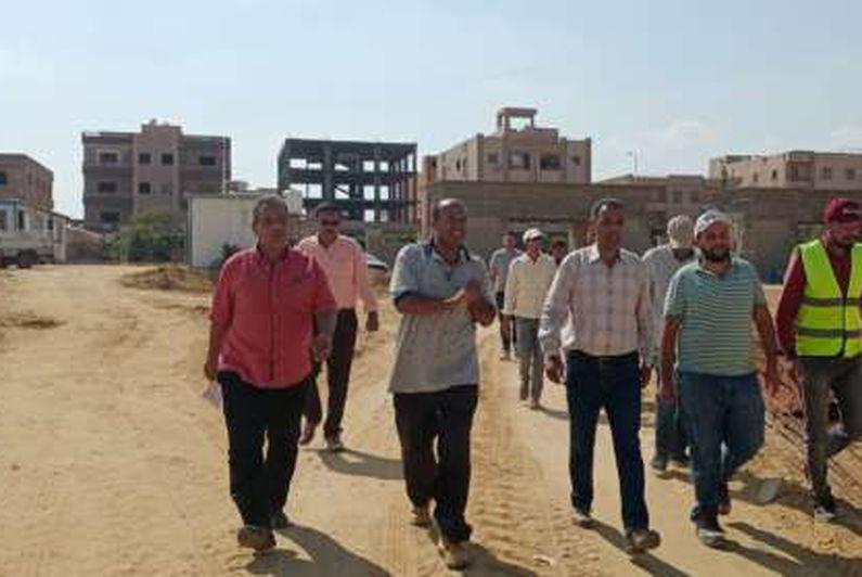 رئيس جهاز مدينة بدر يتابع أعمال تنفيذ ناد رياضي جديد على مساحة 106 آلاف م2