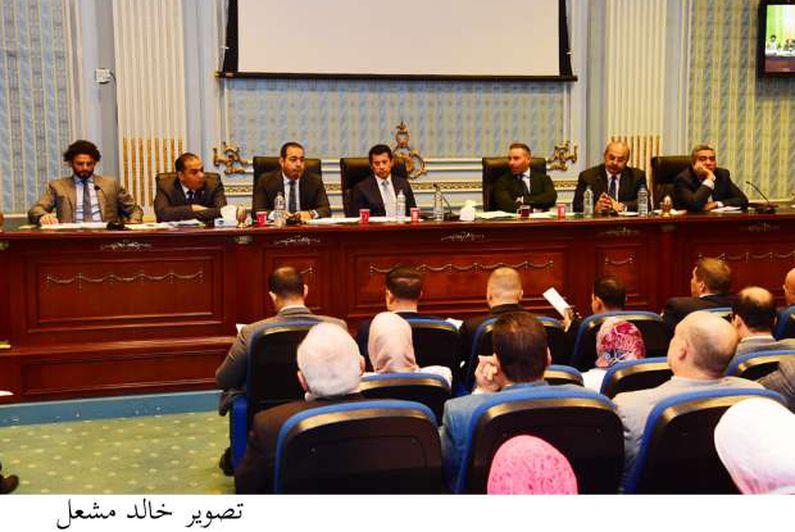 اجتماع لجنة الشباب والرياضة بمجلس النواب