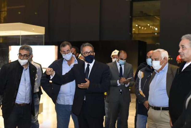 وزير السياحة والآثار يتفقدان متحف عواصم مصر بالعاصمة الإدارية الجديدة