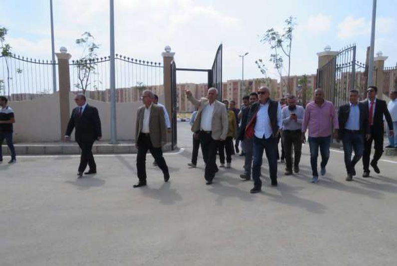 مسئولو «الإسكان» يفتتحون المقر الجديد لجهاز مدينة العبور