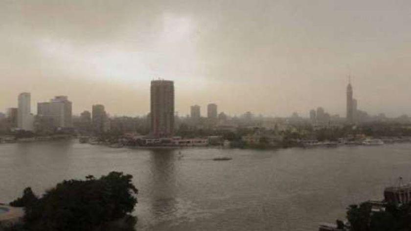 خرائط سقوط الأمطار على مصر