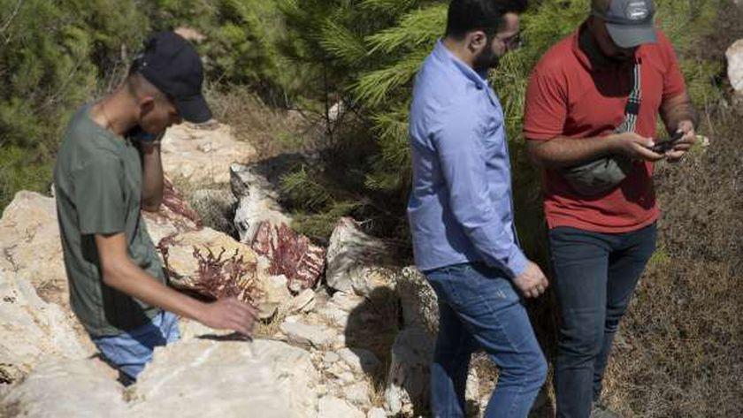 من مكان استشهاد 3 شباب في القدس