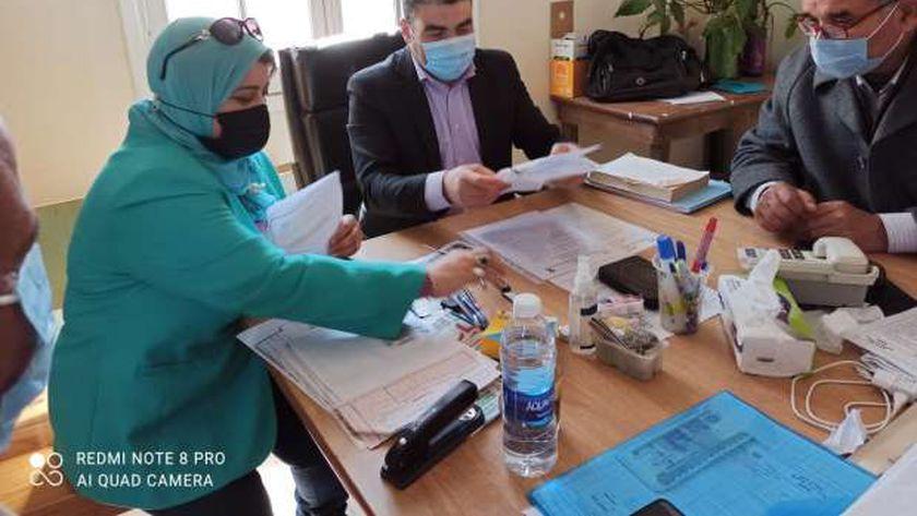 مقرر قومي المراة بكفر الشيخ تبحث التعاون مع الزراعة من خلال  مشروع« PRIME »