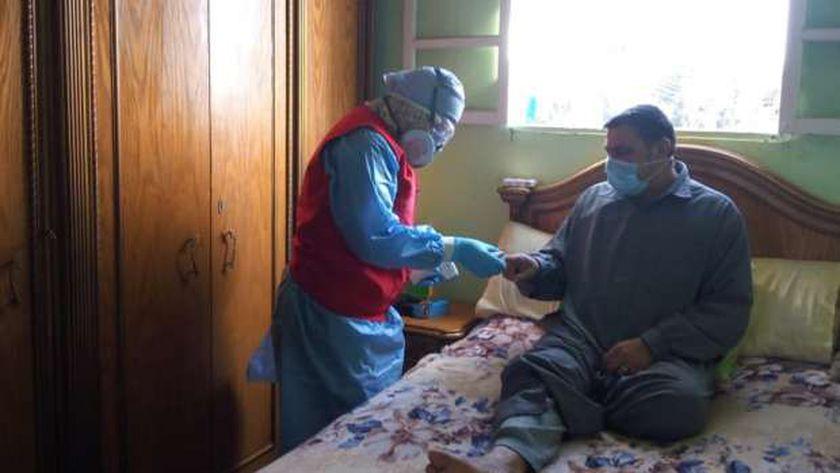 علاج مثابي كورونا في العزل المنزلي بالدقهلية