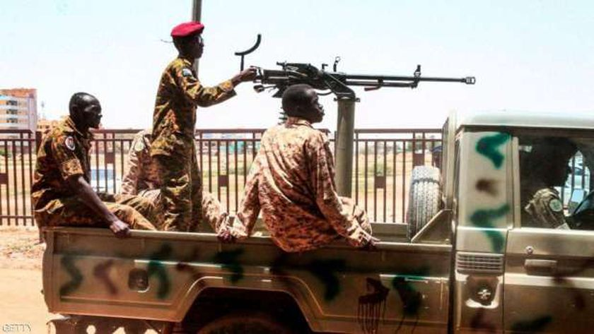 عناصر من الجيش السودانى