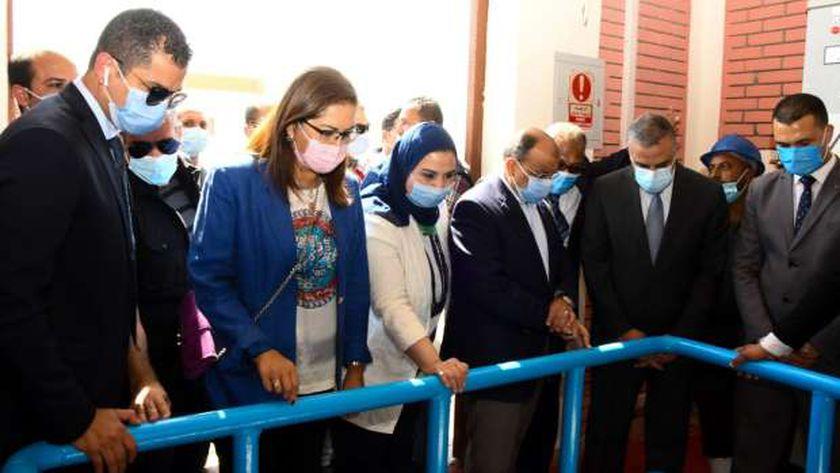 افتتاح محطة الهجارسة للمعالجة الثلاثية للصرف الصحي