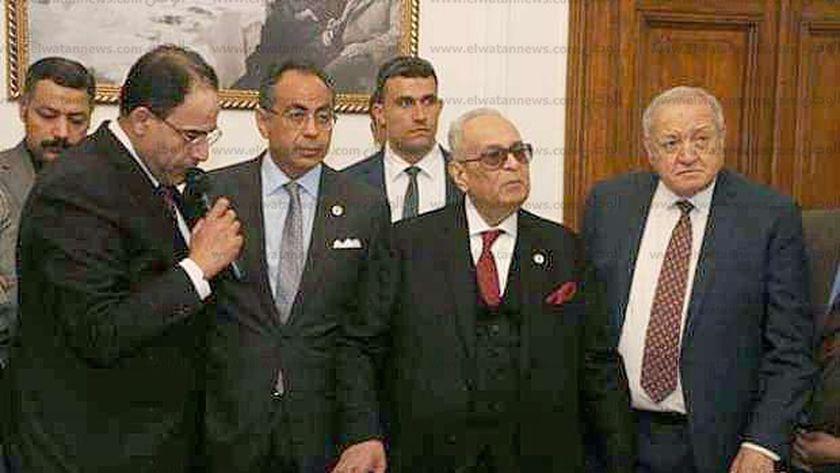 قيادات حزب الوفد