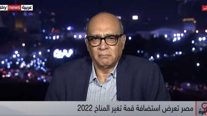 الدكتور عماد الدين عدلي، رئيس المنتدى المصري للتنمية المستدامة