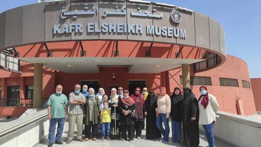 ورش في متحف كفر الشيخ