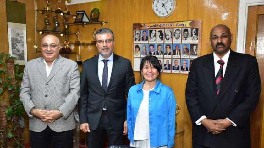 الدكتور عمرو الليثي ورئيس الإذاعة المصرية