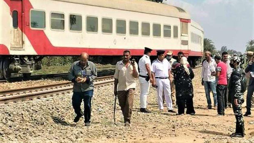 قطار الزقازيق