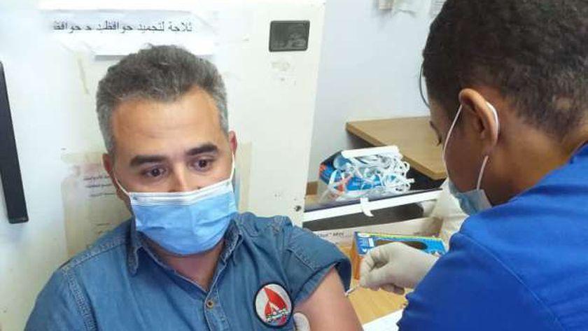 تلقي اللقاح