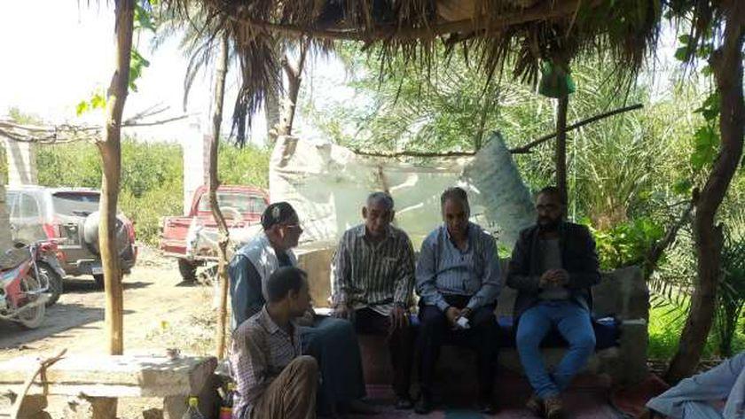 الزراعة تنظم مدرسة حقلية لتوعية المزارعين فى المنيا بخدمة النخيل