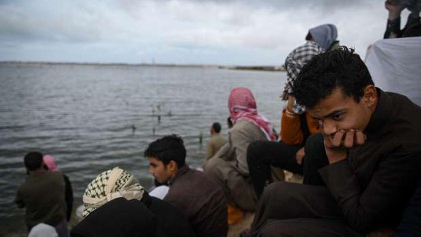 أهالى ضحايا المركب الغارق في بحيرة مريوط غرب الإسكندرية
