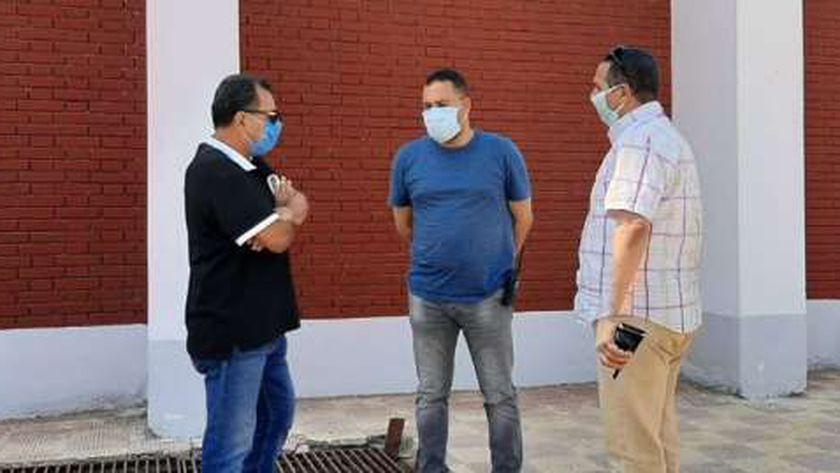رئيس مدينة دسوق يتفقد مشروعات الصرف الصحي