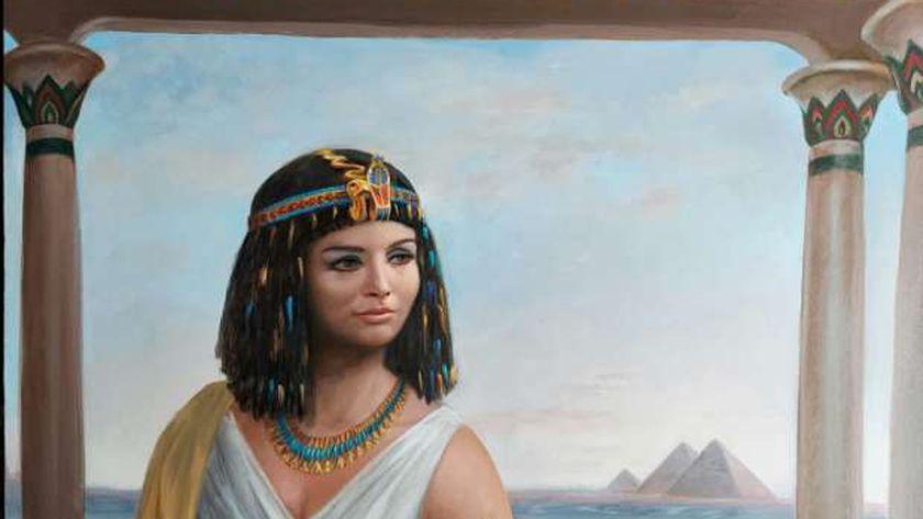 لوحة لبنى عبدالعزيز