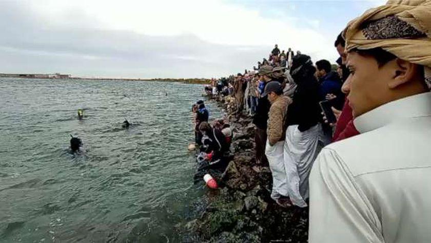 إنقاذ ضحايا مركب الإسكندرية
