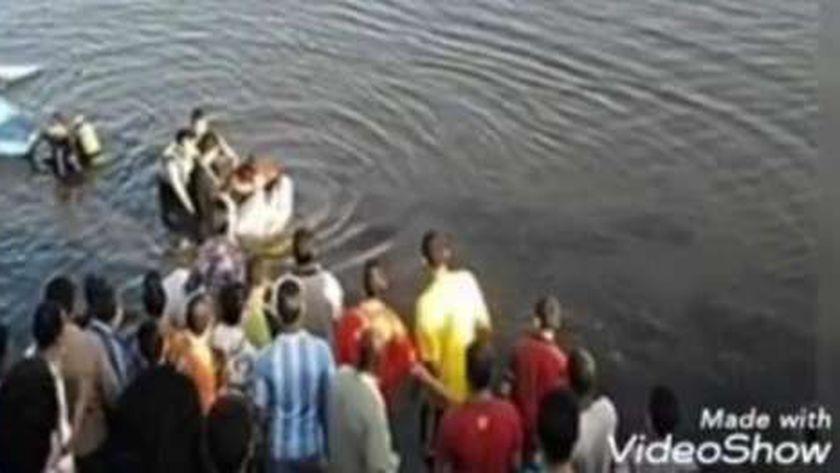 البحث عن جثة طالب غرق في مياه النيل بأسيوط